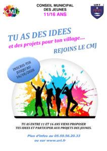 Affiche du Conseil Municipal des Jeunes