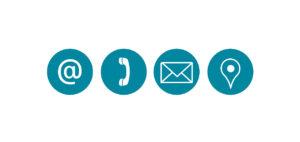 Icones de contact