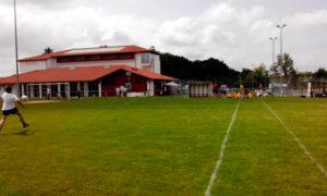 Stade de football de la ville d'urt