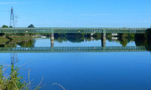 Le Pont de fer d'Urt