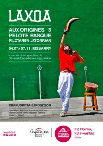 Affiche de l'exposition LAXOA