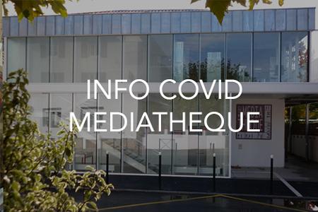 Modalités d'accueil à la Médiathèque à partir du 28 novembre 2020