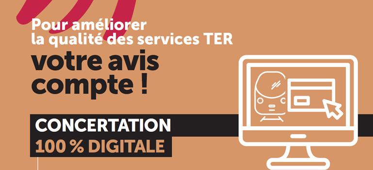Concertation sur la qualité des services TER