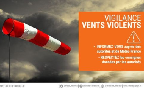 Alerte orages violents
